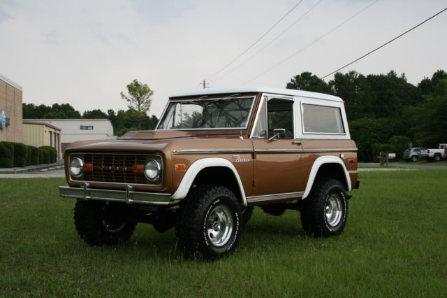 1973 Ford Bronco Sequoia Brown Poly Perfect Daily Driver