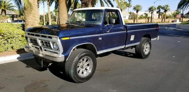 1973 Ford F-250 4x4 Ranger Factory HighBoy Classic Pickup Truck