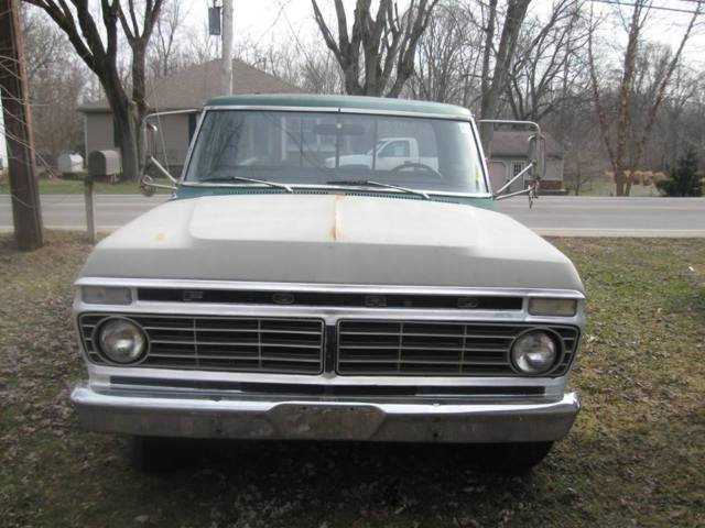 1973 ford f 250 camper special classic truck new tires rims very low mileage for sale. Black Bedroom Furniture Sets. Home Design Ideas