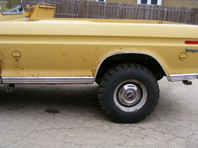 1973 ford f 350 super camper special truck for sale photos technical