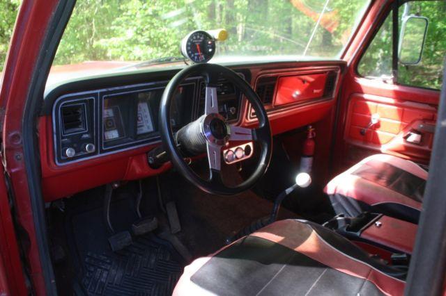 1973 Ford F100 Ranger Short Bed 360 Fe 3 Speed Manual Floor Shift