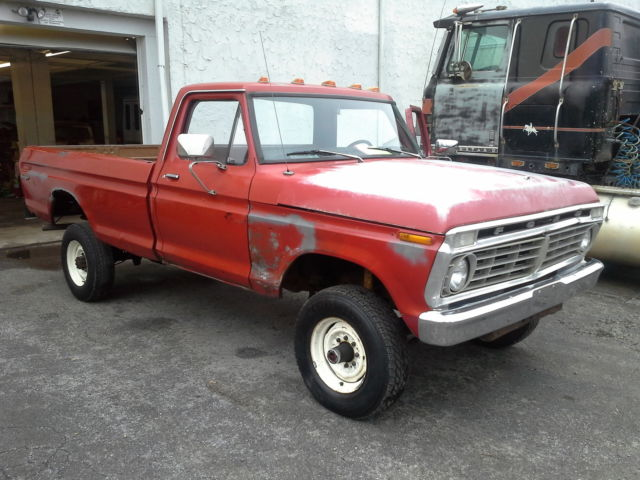 1973 ford f250 highboy for sale photos technical specifications description. Black Bedroom Furniture Sets. Home Design Ideas