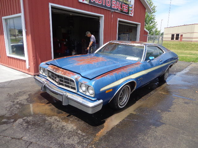 1973 ford gran torino sport 58l 351 fastback all original no reserve look - Ford Gran Torino Fastback