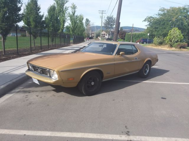1973 Ford Mustang Base Hardtop 2-Door