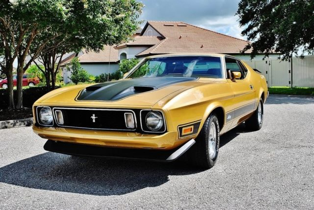 1973 Ford Mustang Mach 1 351 Cleveland V8 Auto Air Conditioning PS
