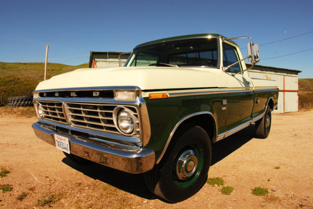 1973 Ford F-250 Camper special