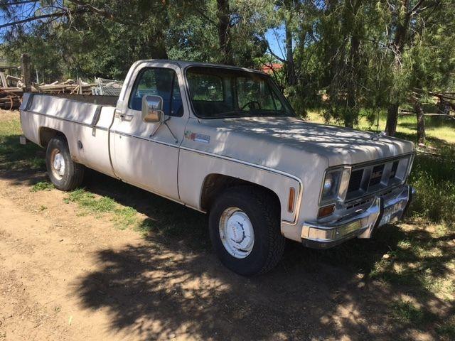 1973 GMC 2500 Calif Truck  Camper Special, Super Custom Option  454