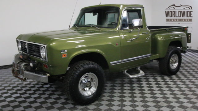 1973 International Harvester PICKUP 1210 RESTORED PICKUP. 4X4 EXTREMELY RARE V8