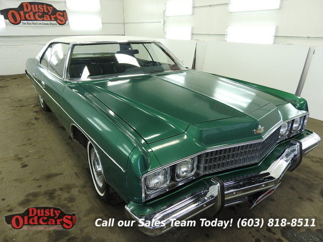 1973 Chevrolet Caprice Runs Drives Body Inter Good 400V8 3 spd auto