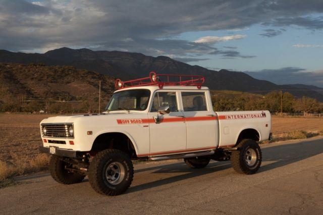 International Crew Cab For Sale >> 1973 International Harvester Travelette 4x4 Crew-Cab Pickup Truck for sale: photos, technical ...
