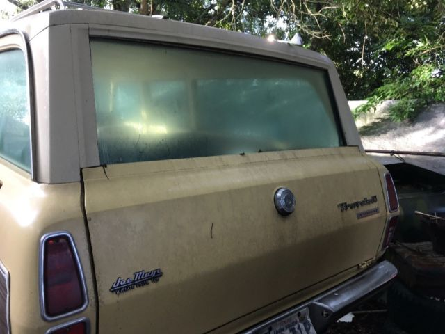 1973 Yellow International Harvester Other SUV with Tan interior