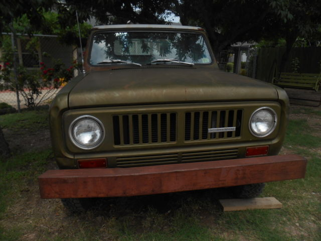 1973 International Harvester Scout TRUCK SCOUT 2