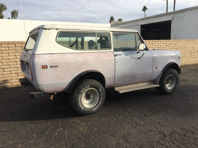 1973 International Harvester Scout SUV