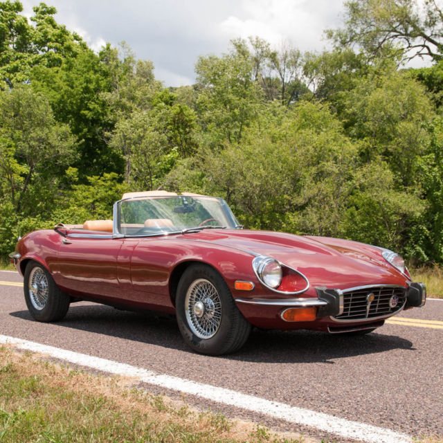 1973 Jaguar E-Type E-Type Series III Convertible