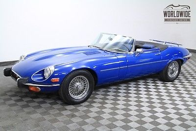 1973 Jaguar E-Type XKE 12 Cylinder. 2 Owner. Very Low Miles
