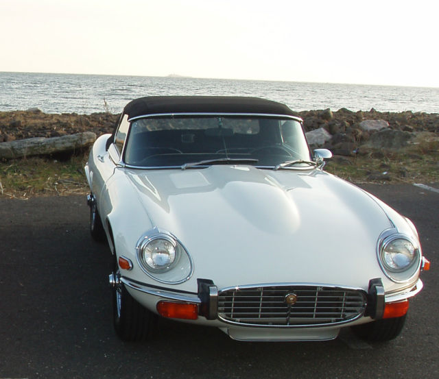 Price Of Jaguar Convertible: 1973 Jaguar E-Type XKE V-12 4 Speed Roadster Old English