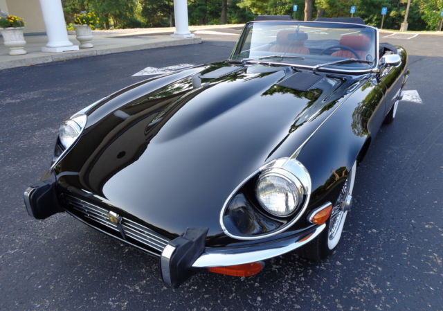 1973 Jaguar E-Type #'S MATCH AC