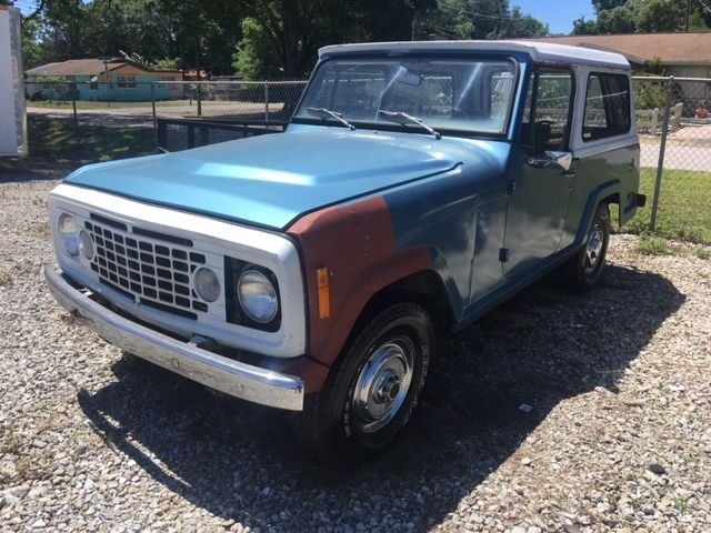 1973 Jeep Commando Base