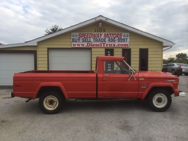 1973 Jeep J4000 2 Door Pickup