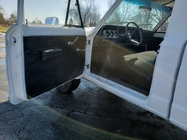 1973 White Jeep Other Standard Cab Pickup with Black interior