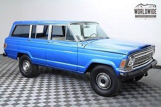1973 Jeep Wagoneer AC! Preserved! Rare! 18K Miles! Crate 350