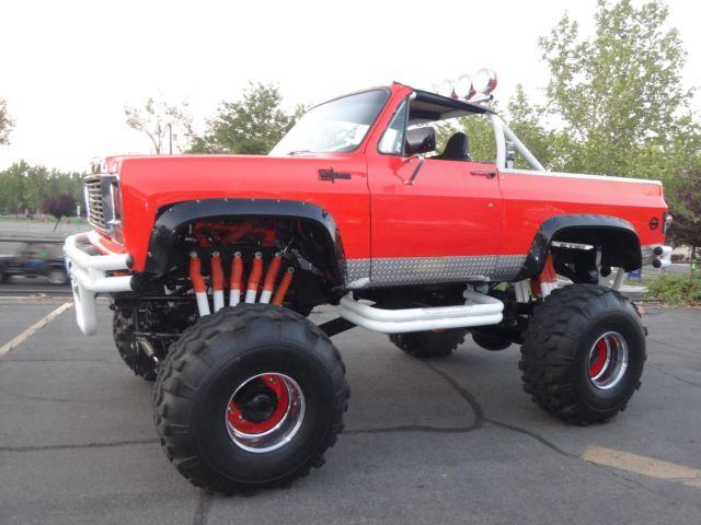 1973 K5 Blazer Monster Truck Street Legal For Sale Photos