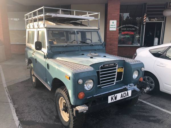1973 Land Rover Series III 88