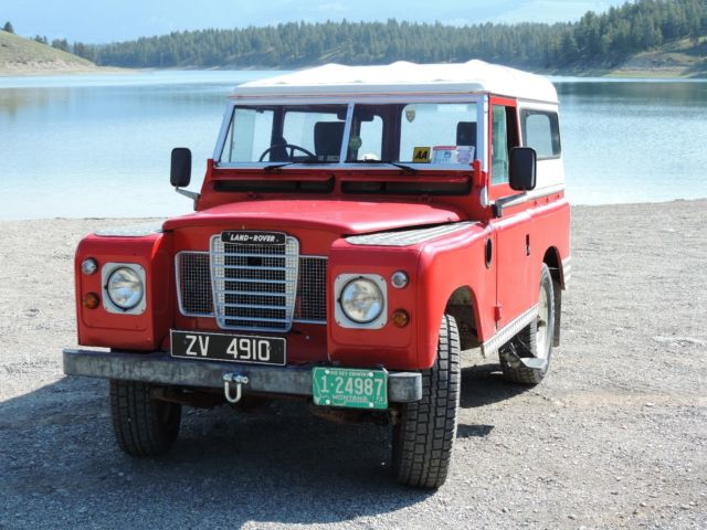 1973 Land Rover Series 3 Model 88
