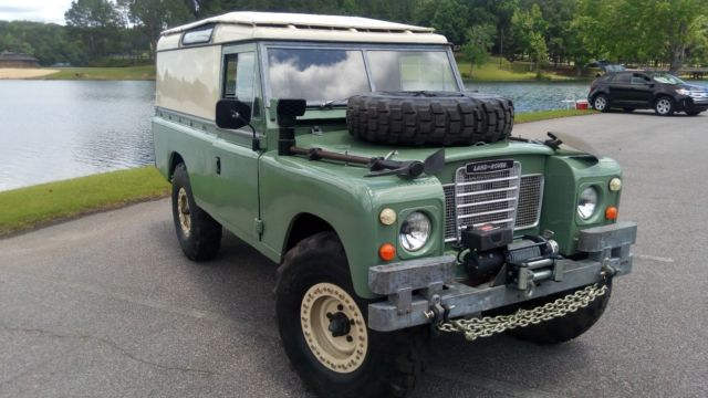 1973 Land Rover Series III 109