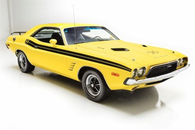 1973 Dodge Challenger Lemon Twist, RT Stripes
