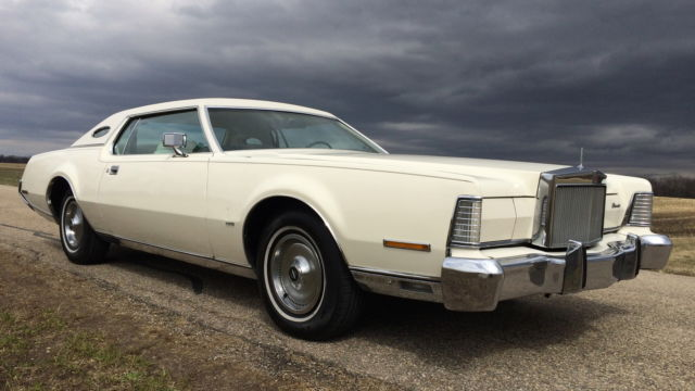 1973 Lincoln Mark Series