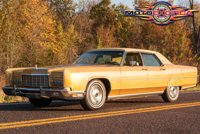 1973 Lincoln Continental Town Car, 46k Actual Miles, 460 ...