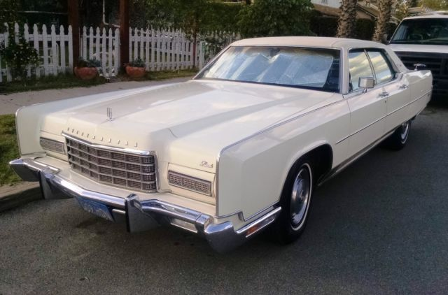 1973 lincoln continental town car super clean and rare for sale photos technical. Black Bedroom Furniture Sets. Home Design Ideas