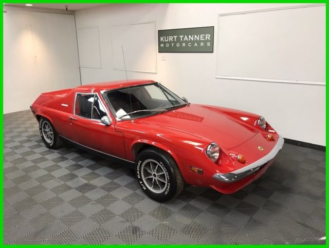 1973 Lotus Europa Special SPECIAL, TWIN CAM, BIG VALVE, 5-SPEED