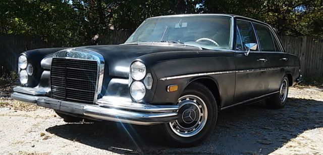 1973 Mercedes-Benz 200-Series 280 SEL 4.5