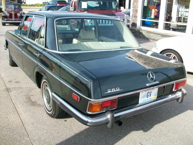1973 mercedes benz 280 sedan one owner for sale for 1973 mercedes benz 280