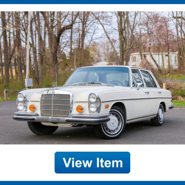 1973 Mercedes-Benz 200-Series 280 SEL 4.5 280 SEL V8 W108 M117  Rare Collectible