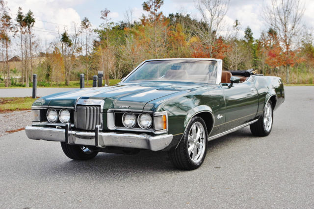 1973 Mercury Cougar XR-7 Convertible 351 V8 4-Barrel Must See