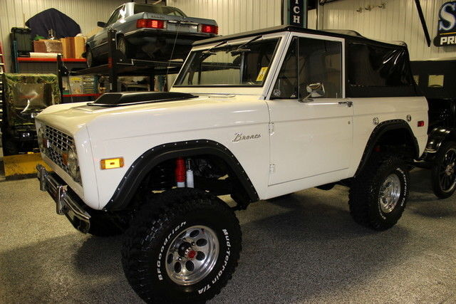1973 Ford Bronco Bronco Modified Convertible