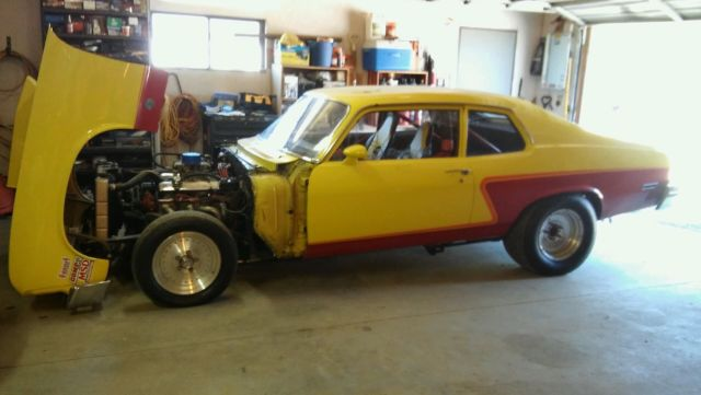 1973 Chevrolet Nova Drag Car