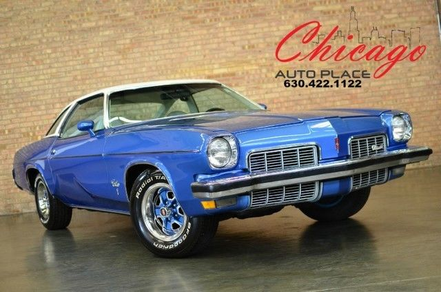 1973 Oldsmobile Cutlass S - w/ 442 OPTIONS INCLUDING 455 ENGINE - FACTORY A/C