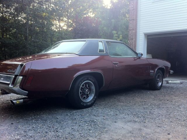 1973 Oldsmobile cutlass supreme-54K miles for sale: photos