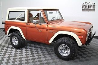 1973 Ford Bronco Restored! AC! PS! PB! AUTO. 5K Miles!