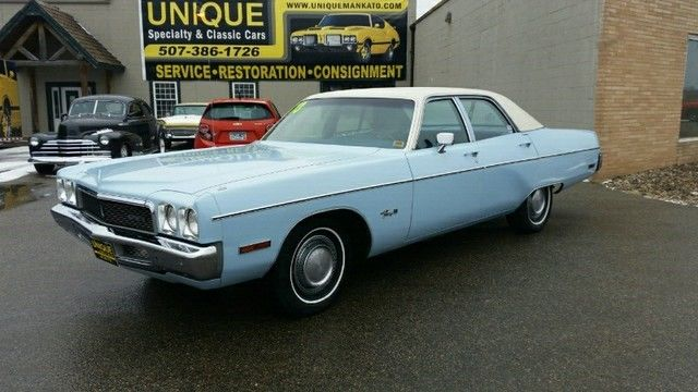 1973 Plymouth Fury Sedan