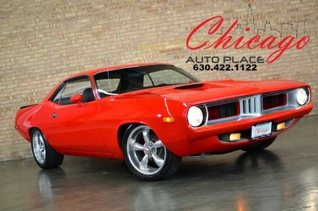 1973 Plymouth Barracuda restored,resto mod,muscle car
