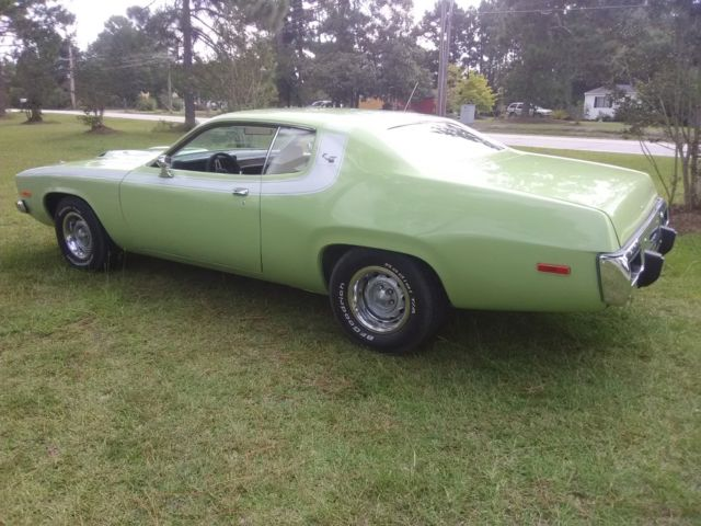 1973 Plymouth Road Runner Gtx Matching 440 1 Year Only Seamist Green Paint
