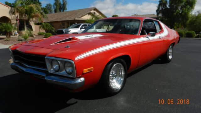 1973 Plymouth Road Runner True 340 H Code 4 speed now 318 automatic