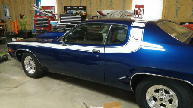 1973 Plymouth Road Runner With Blower Pro Street For