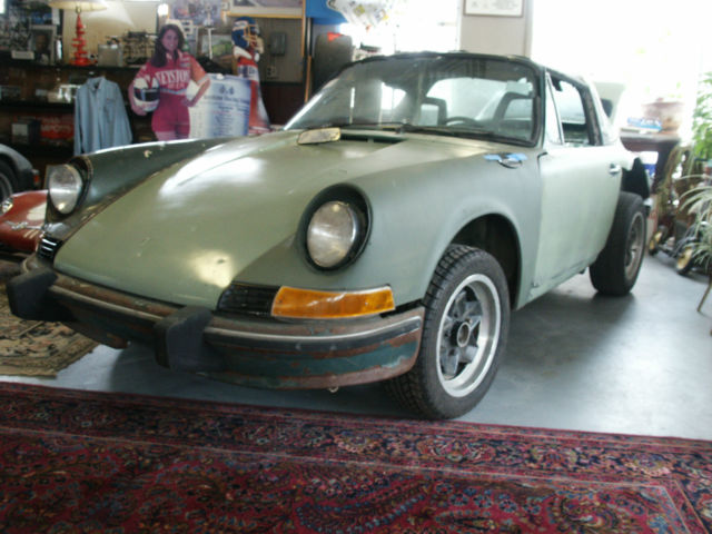 1973 Porsche 911 T Targa Restoration Project Original Engine