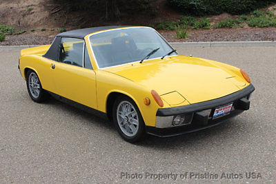 1973 Porsche 914 1973 Porsche 914 Sunflower Yellow/ restored